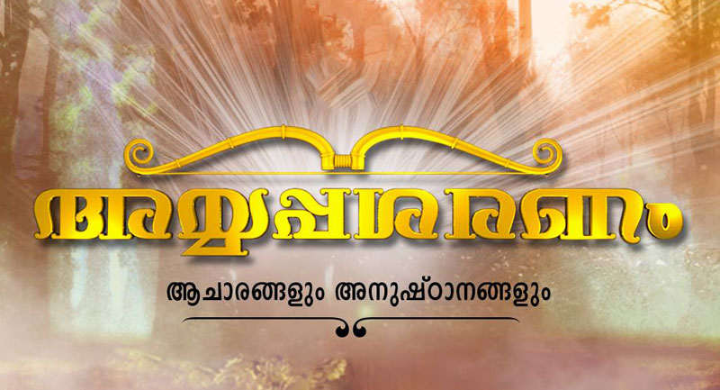 Ayyappasaranam program banner